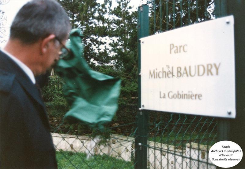 Michel Baudry… le parc